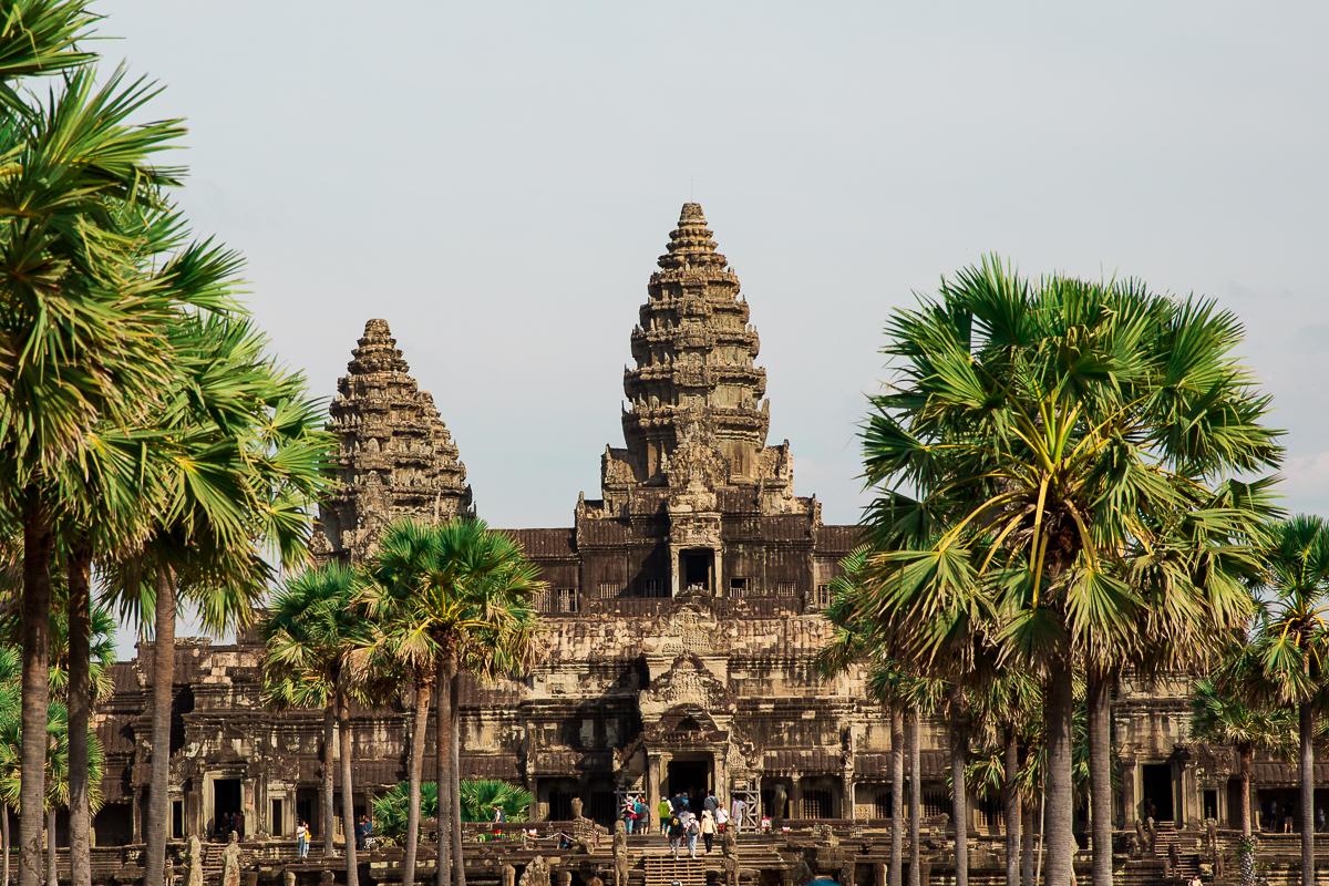 Angkor Wat und die lachenden Gesichter Kambodschas 71