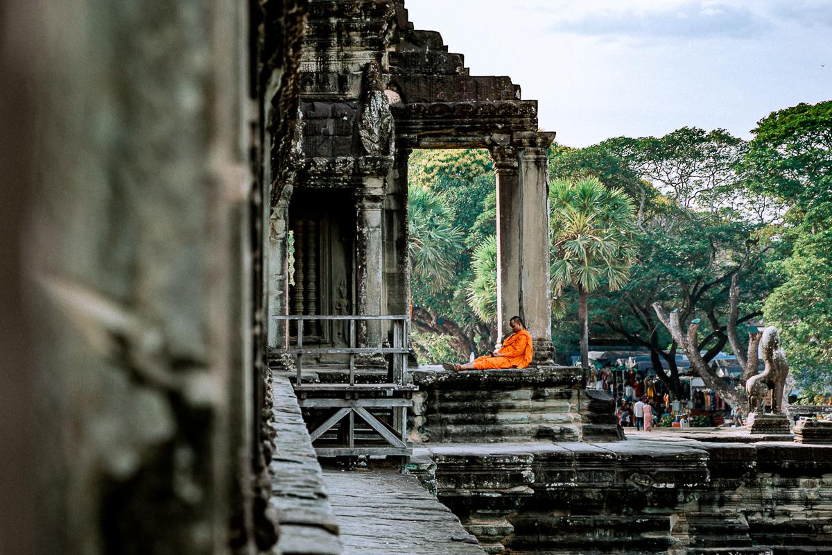 Angkor Wat und die lachenden Gesichter Kambodschas 70