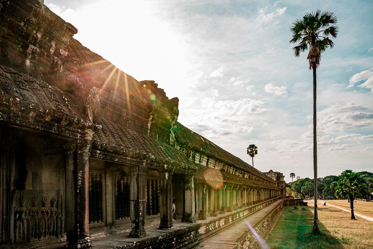 Angkor Wat und die lachenden Gesichter Kambodschas 69