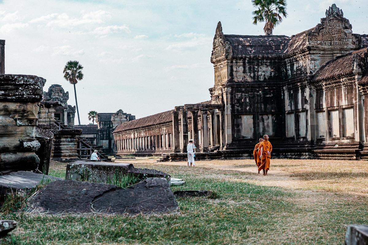 Angkor Wat und die lachenden Gesichter Kambodschas 68
