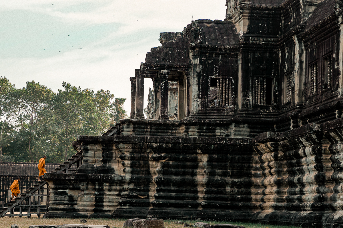 Angkor Wat und die lachenden Gesichter Kambodschas 67