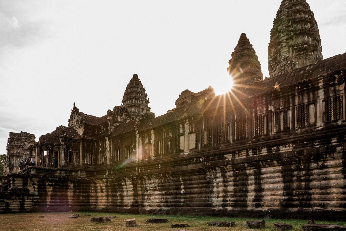 Angkor Wat und die lachenden Gesichter Kambodschas 66