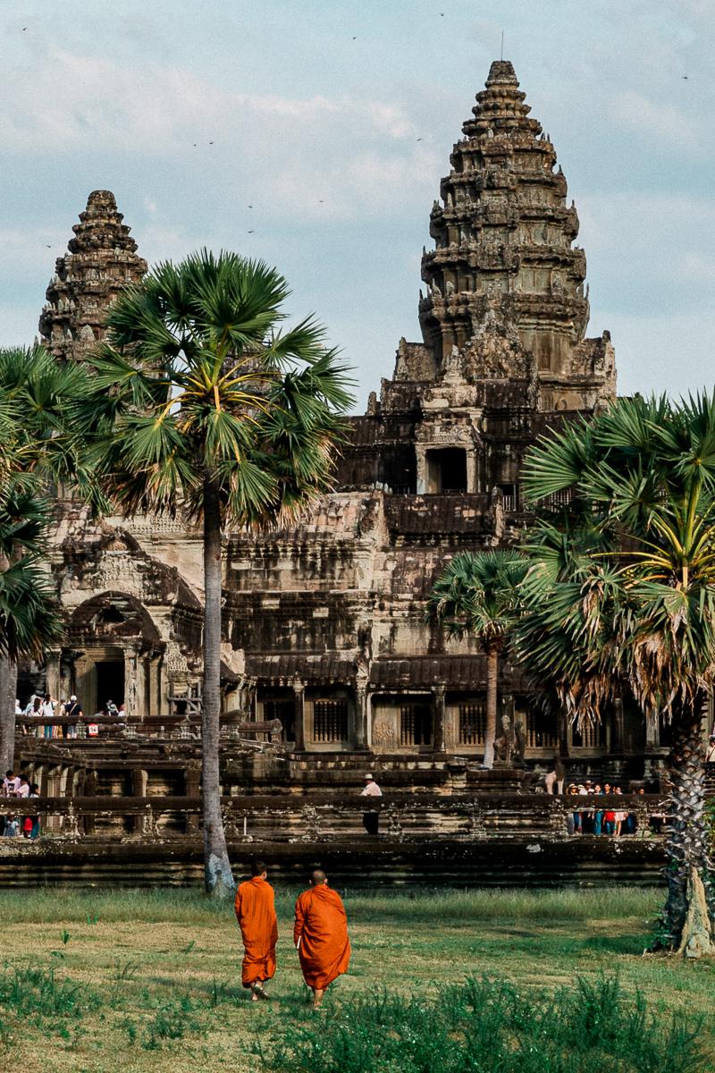 Angkor Wat und die lachenden Gesichter Kambodschas 64