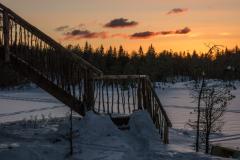 sunset treehouse norway