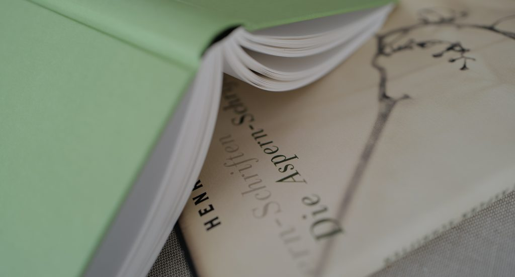 Die Aspern-Schriften Buchcover