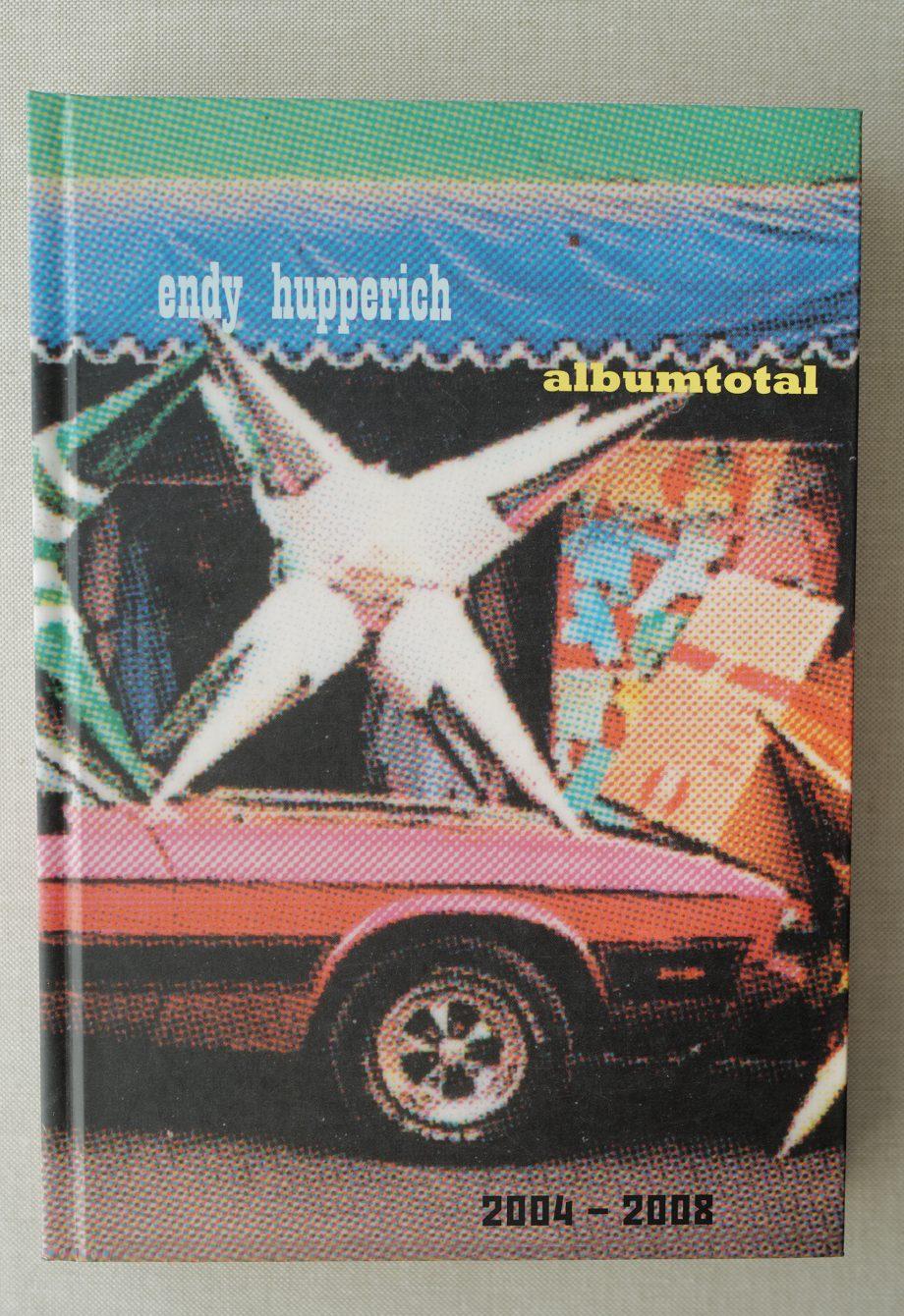 Endy Hupperich Albumtotal. Buchcover