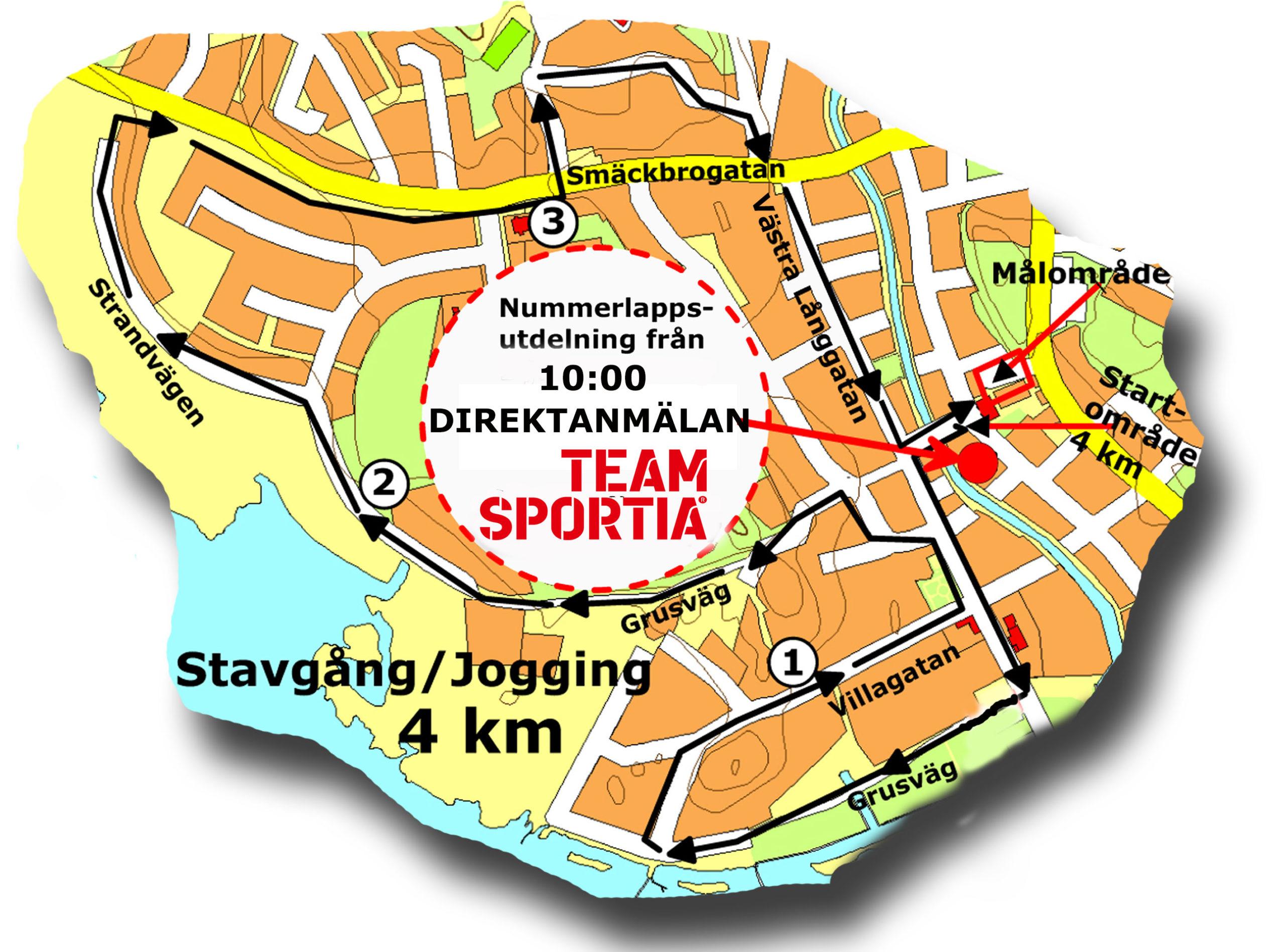 Jogging-Stavgång 4km