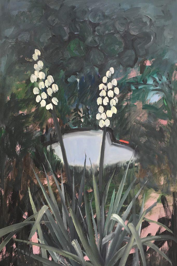 flowerscape nr 13 - 60x90 - olie op doek