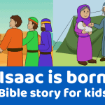 Isaac is born preschool Bible lesson. Learn about waiting on God.Games, Crafts, Activities, songs, lesson, worksheets and more.