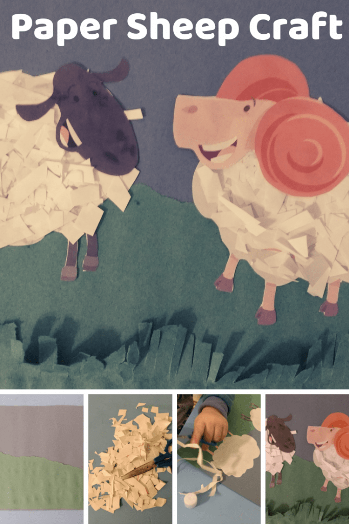 Paper Sheep Craft 2