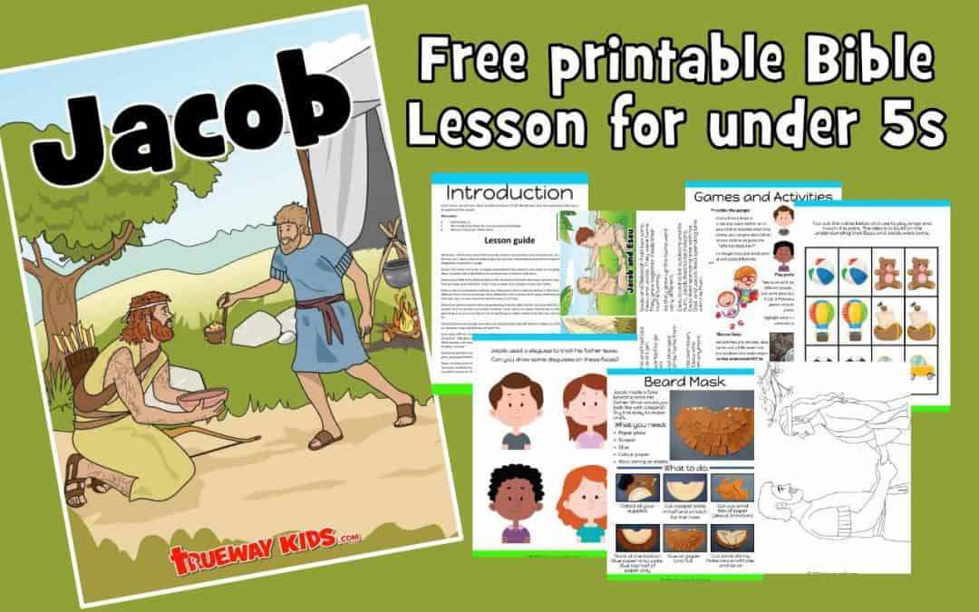 Jacob preschool Bible lesson. Learn about how God can change our life.Games, Crafts, Activities, songs, lesson, worksheets and more.