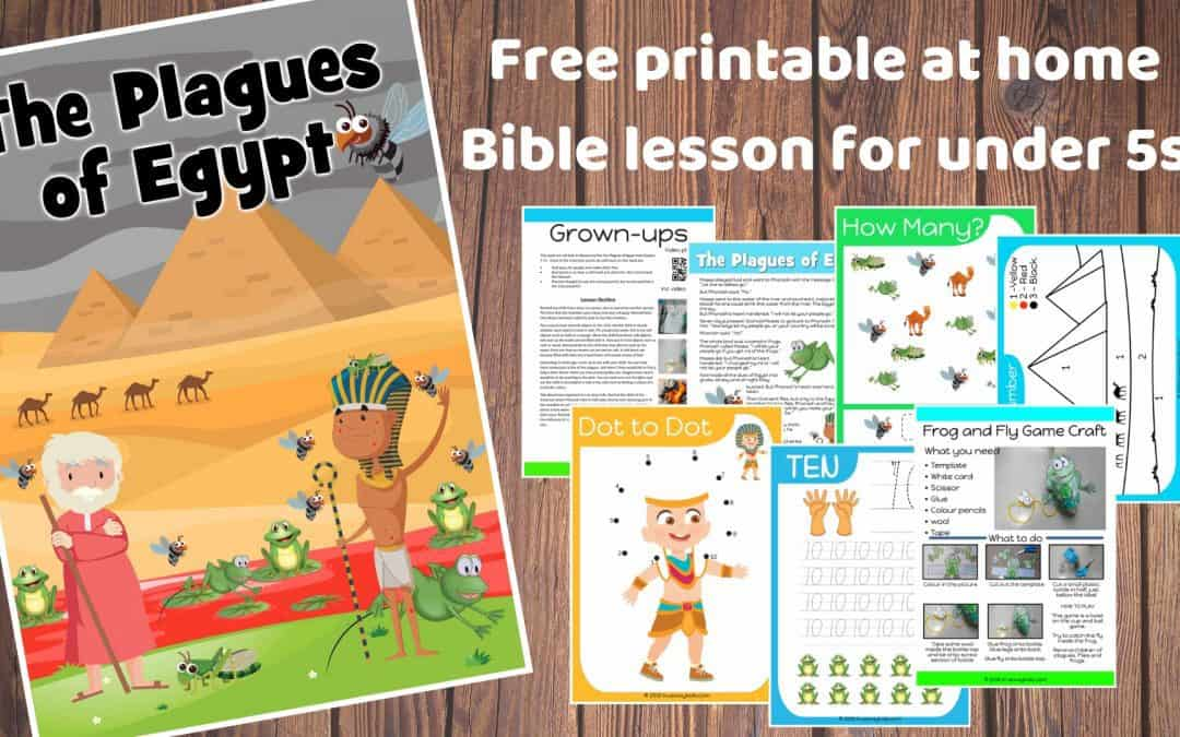 The Plagues of Egypt – Free Bible lesson for kids