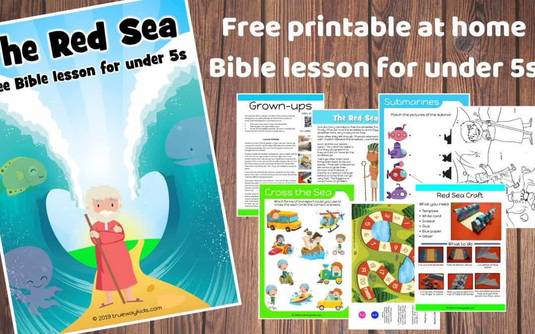 The Red Sea preschool Bible lesson. Learn about God making a way.Games, Crafts, Activities, songs, lesson, worksheets and more.