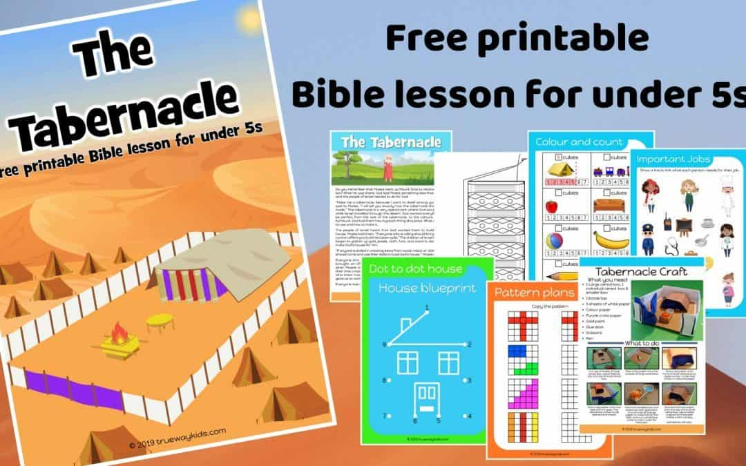The Tabernacle – Free Bible lesson for children