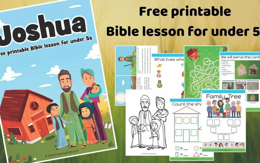 Joshua – Free Bible lesson for children