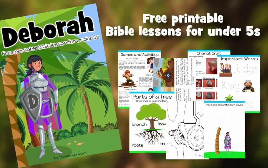 Deborah – Free Bible lesson for kids