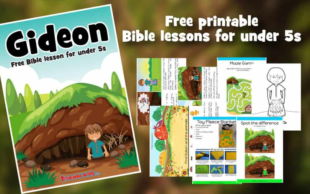 Gideon's calling – Free Bible lesson for kids