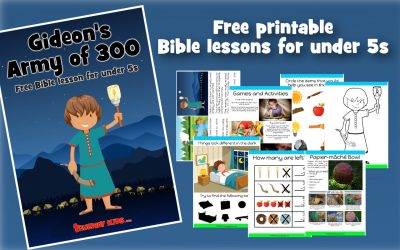 Gideon's army of 300 – Free Bible lesson for kids