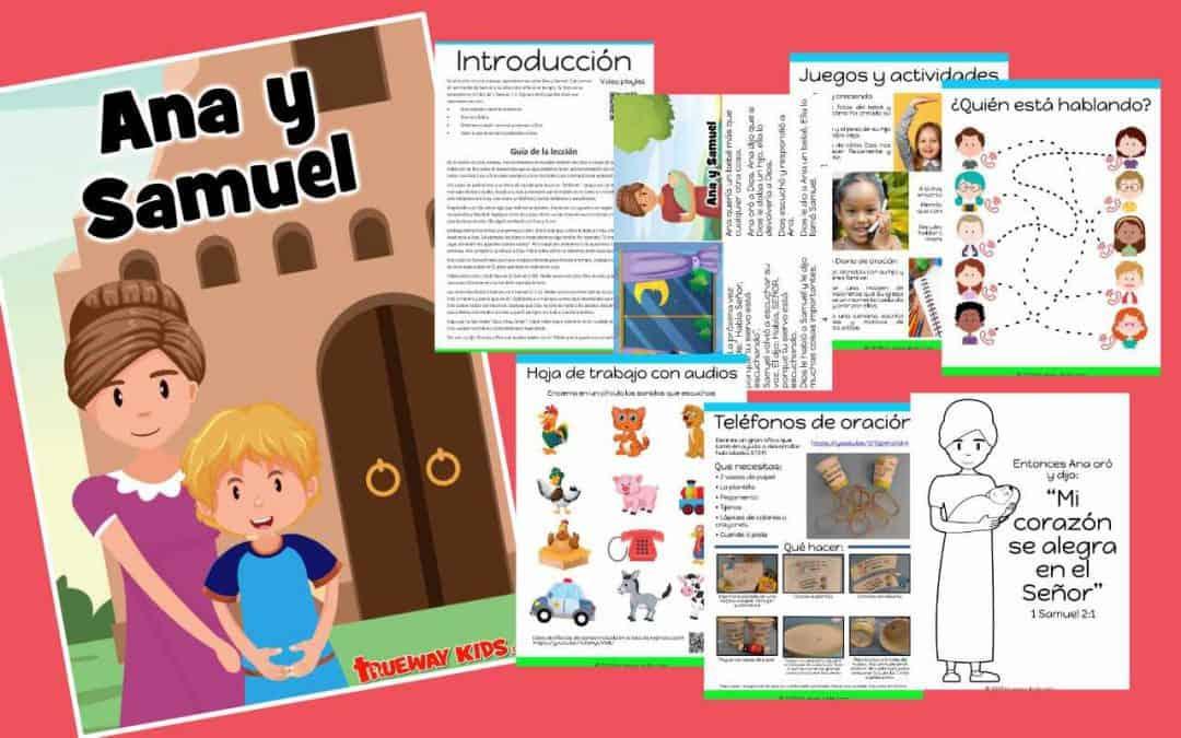 Ana y Samuel – lección de la biblia para niños