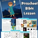 Here is a free printable Gideon army of 300 Bible lesson to use with under 5s at home or at church. Learn that God can do much with a few. Free printable lesson includes story, worksheets, colouring pages and more.
