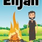 Cover of Elijah Bible lesson for preschoolers