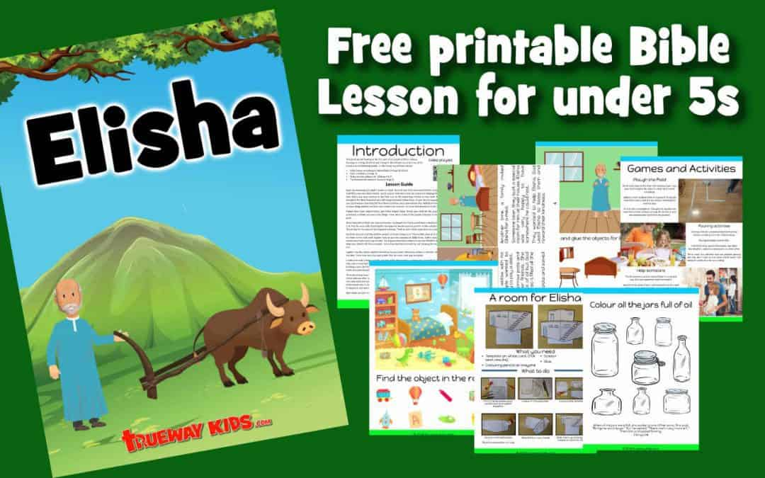 Elisha Preschool Bible lesson
