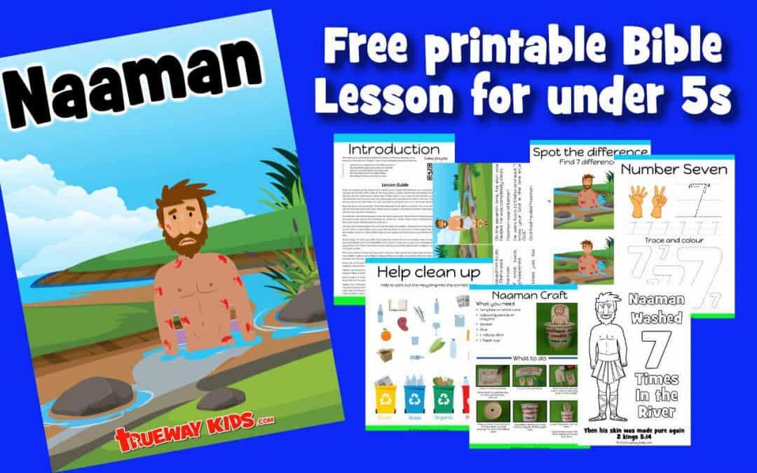Naaman – Preschool Bible lesson