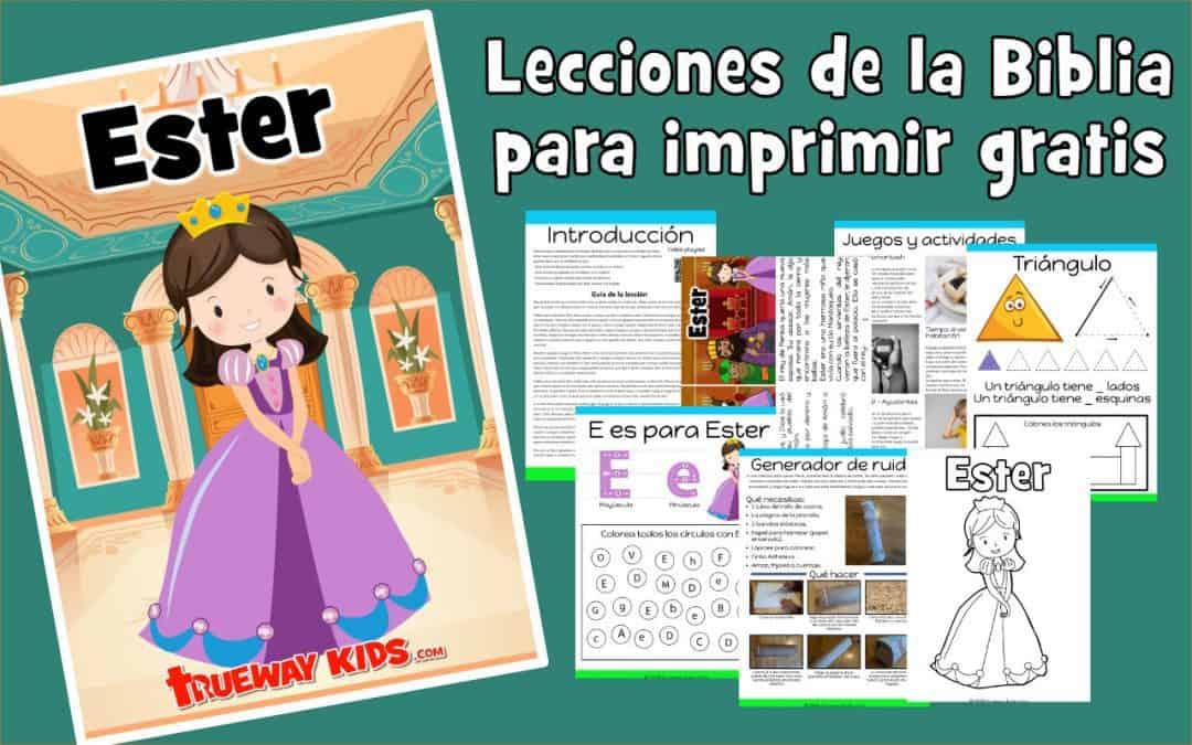 Ester – lección de la biblia para niños
