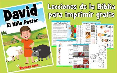 David – El Niño pastor – lección de la biblia para niños
