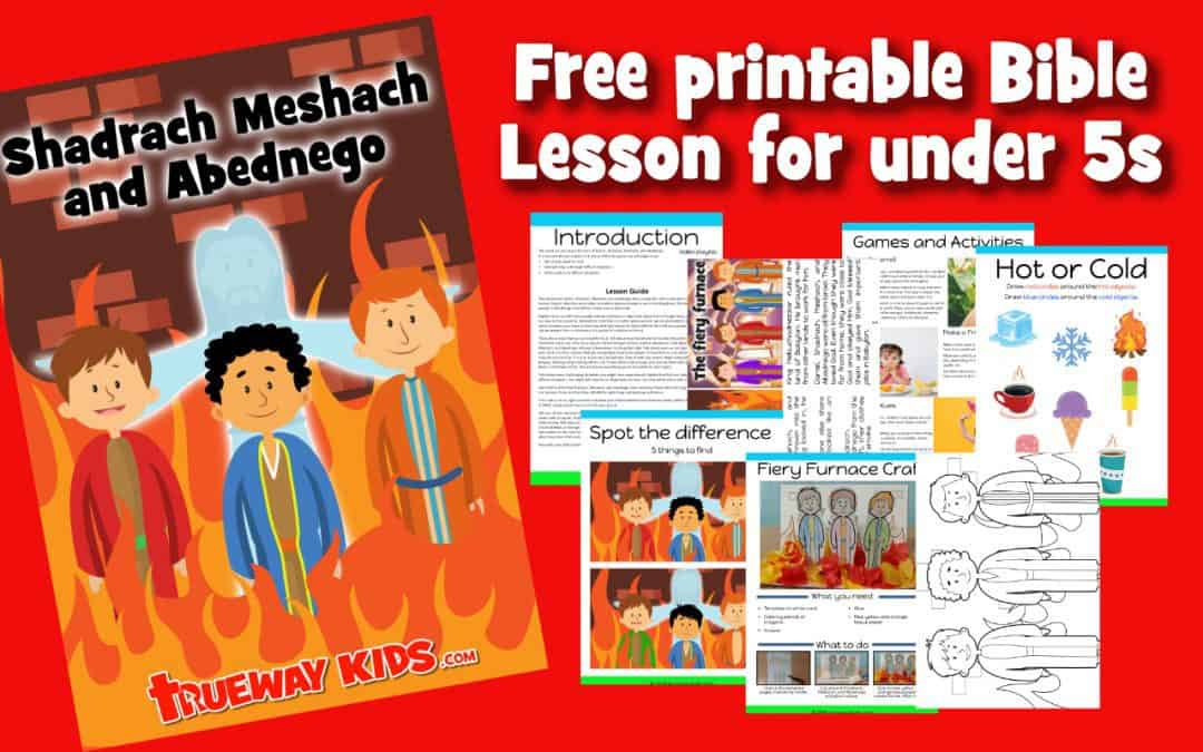 - Shadrach, Meshach, And Abednego - Preschool Bible Lesson - Trueway Kids