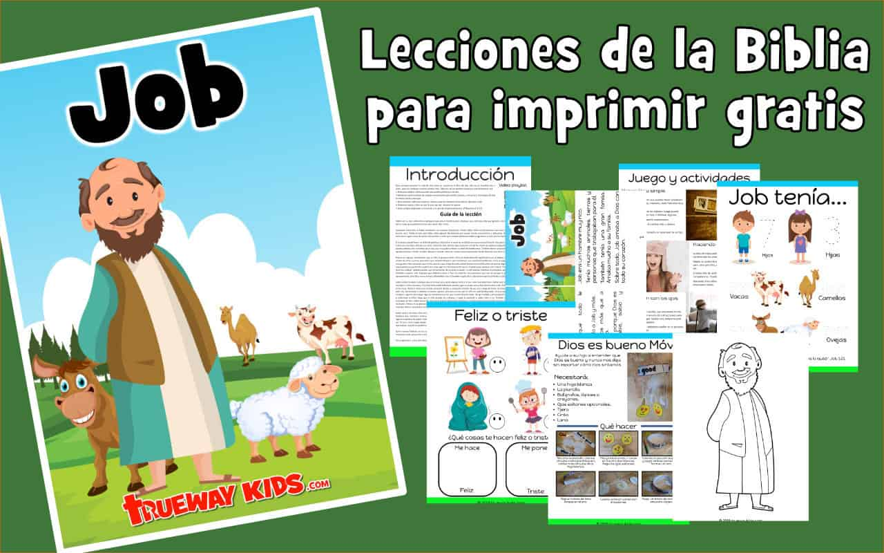 Job Lección De La Biblia Para Niños Trueway Kids