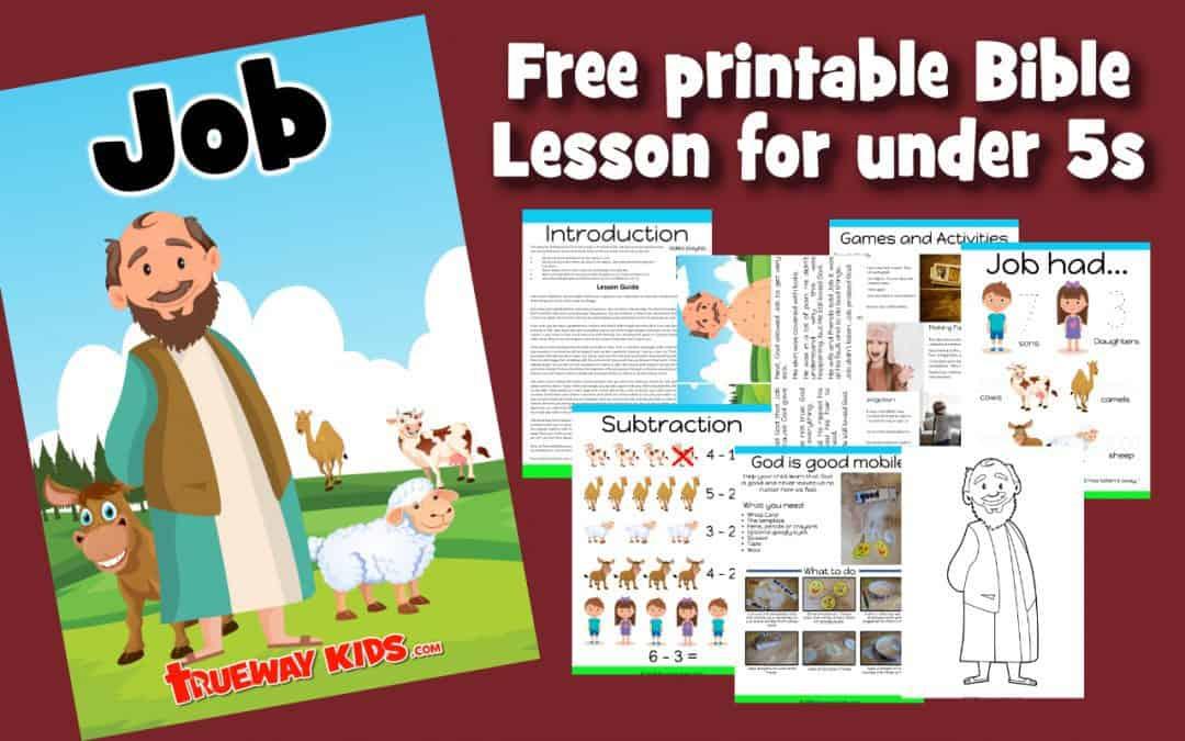 - Job - Preschool Bible Lesson - Trueway Kids