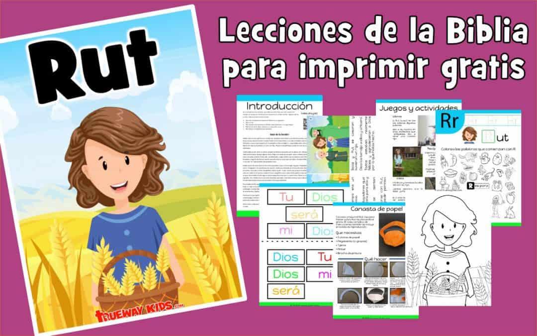 Rut – lección de la biblia para niños