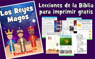 Los Reyes Magos – lección de la biblia para niños