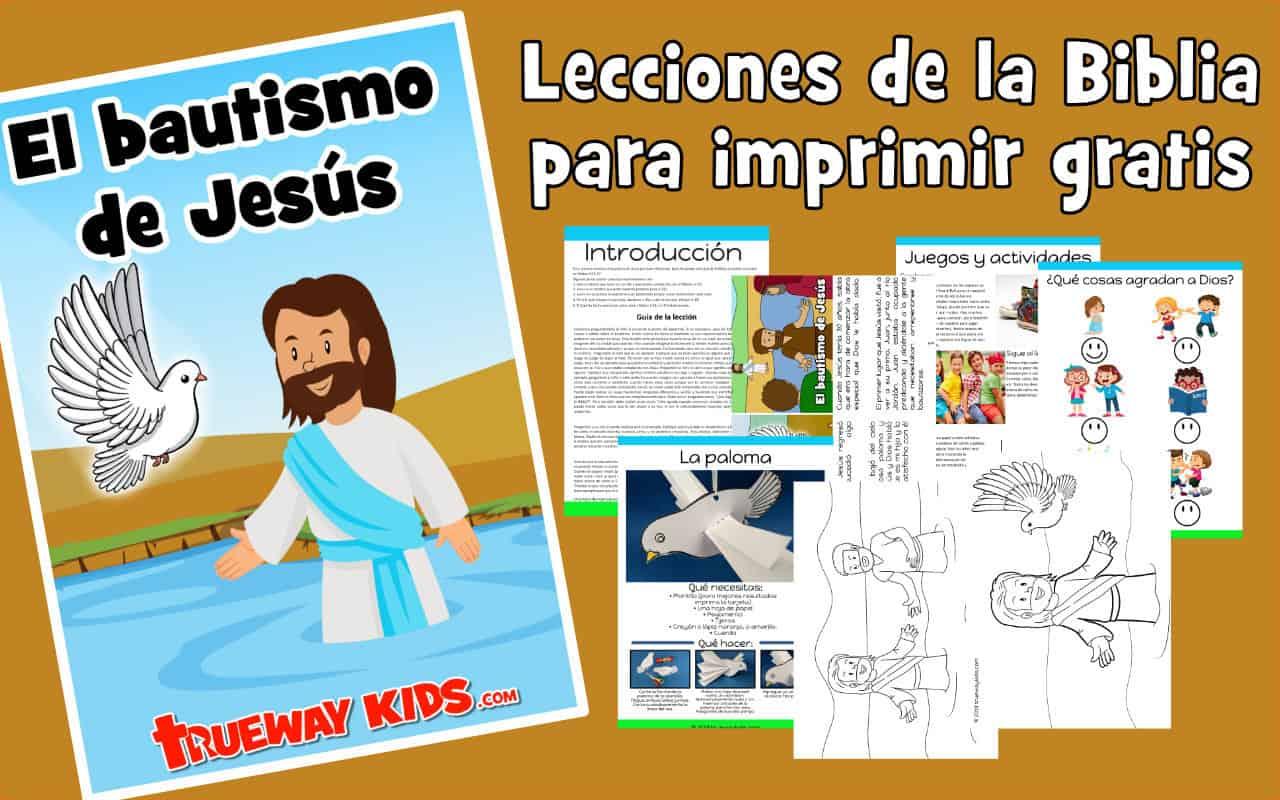 diseñador Me gusta invadir  El bautismo de Jesús - Trueway Kids