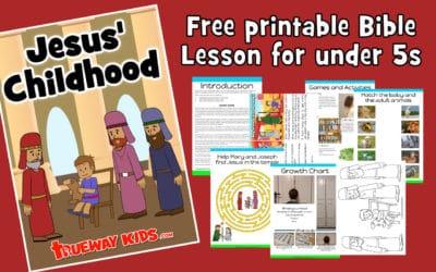 Jesus' childhood – Jesus visits the temple