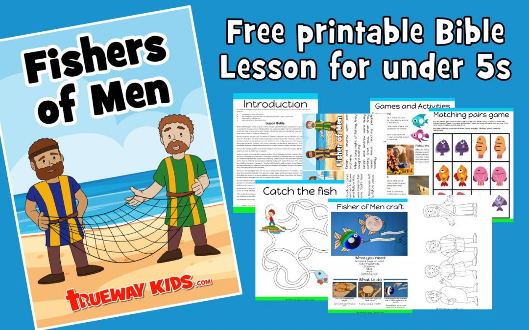 Jesus calls fishers of men - Bible lesson for kids