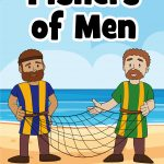 Jesus calls fishers of men - free printable Bible lesson for preschoolers