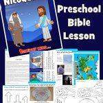 Jesus and Nicodemus Bible lessons for kids