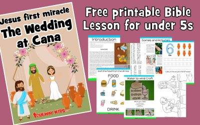 Jesus' first Miracle – The wedding in Cana