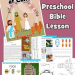 Jesus' first Miracle at the wedding in Cana (John 2) Bible lesson