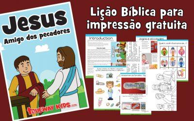 Jesus amigo dos pecadores