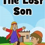 Free printable Bible lesson on the lost or prodigal son in Luke 15:11-32. Great for preschool children. story, worksheets, coloring pages, craft and more