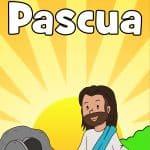 Lección de la Biblia de Pascua imprimible gratis. Cubre desde el Viernes Santo hasta la Pascua. Manualidades para tumbas vacías, páginas para colorear, juegos bíblicos de Pascua y actividades para el hogar. Ideal para niños de preescolar