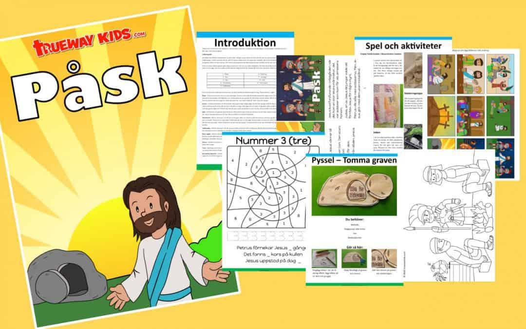 Påsk Bibeln lektion för barn
