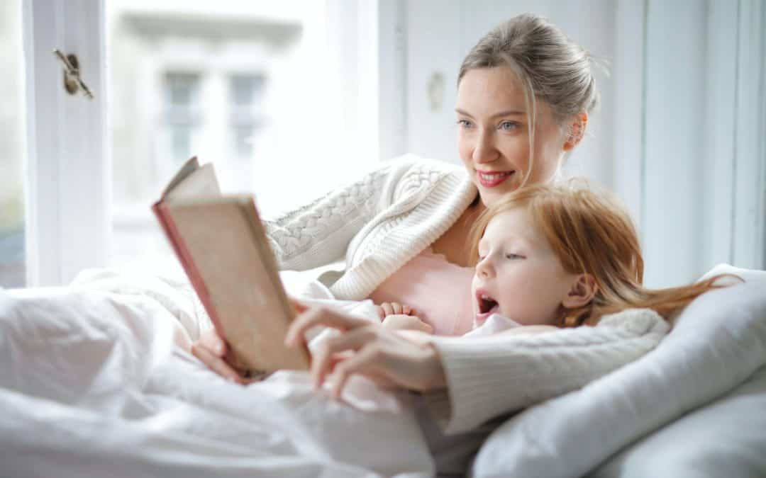The benefits of reading Bible stories to children before bed