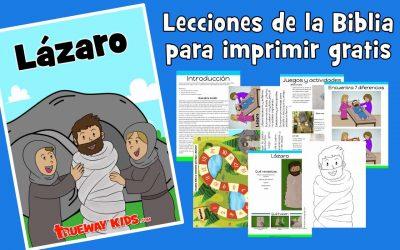 Lázaro – Lección para niños