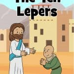 Jesus healed many people throughout His ministry. In Luke 17:11-19, Jesus healed ten lepers, but only one was thankful. Printable lesson includes story, guide, worksheets, coloring pages, crafts and more for church. Sunday school or home.
