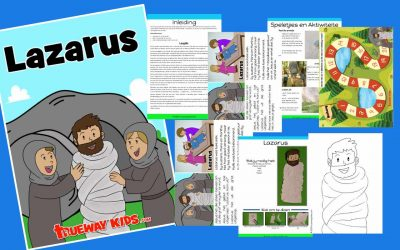 Lazarus – Gratis drukbare Bybel lesse