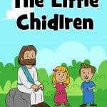 """When the disciples thought little children were not important enough for Jesus, Jesus replied, """"Let the little children come to me."""" Our passage is found in Matthew 19:13-15, Mark 10:13-16, and Luke 18:15-17. Free printable lesson, guide, story, games, activities, crafts coloring pages and much more."""